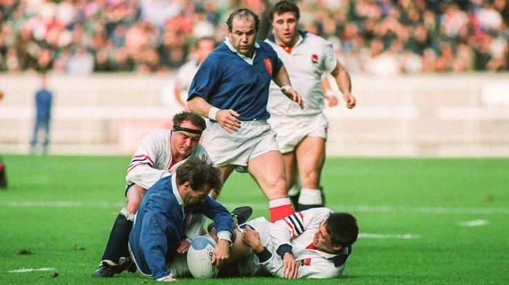 France - Angleterre : 1/4 de finale Coupe du monde 1991