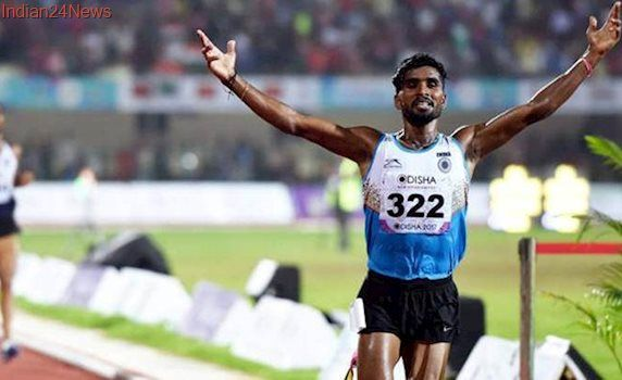 Govindan Lakshmanan wins gold in 5000m, three meet records broken