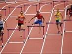 Men's 400m Hurdle heats