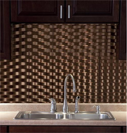 Fasade Backsplash Weave Style By Acp On Homeportfolio