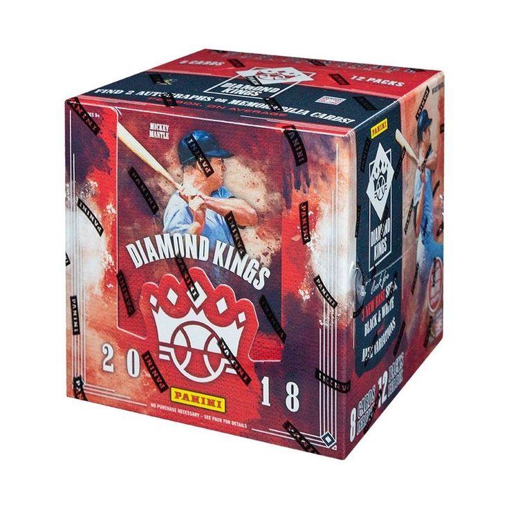 2018 panini diamond kings baseball hobby box 613297916796