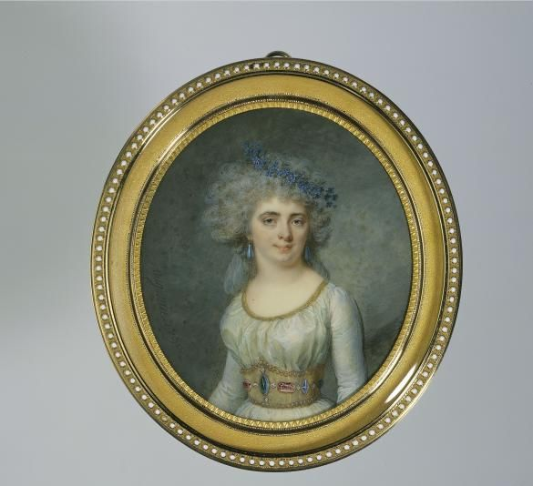 Portrait de Mademoiselle Raucourt, en 1790   Paris Musées