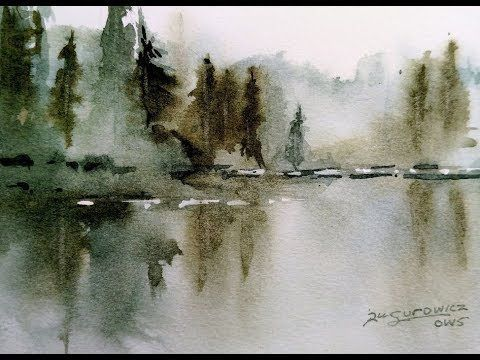 WATERCOLOR FOR BEGINNERS: PAINTING THE SEA. SIMPLICITY, TIPS, TIPS …..