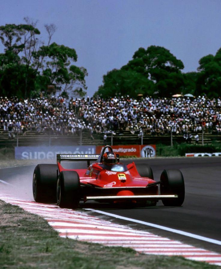 Gilles Villeneuve, Ferrari, Argentina, 1980