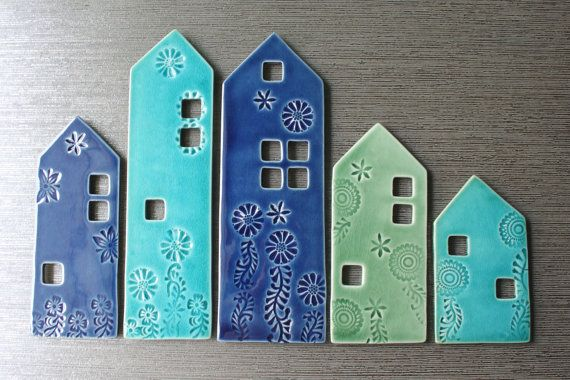 maisons plaque céramique
