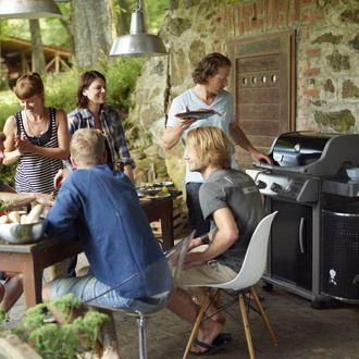 Barbecue Gaz 3 brûleurs 9.36 KW SPIRIT PREMIUM E320 SPIRIT PREMIUM