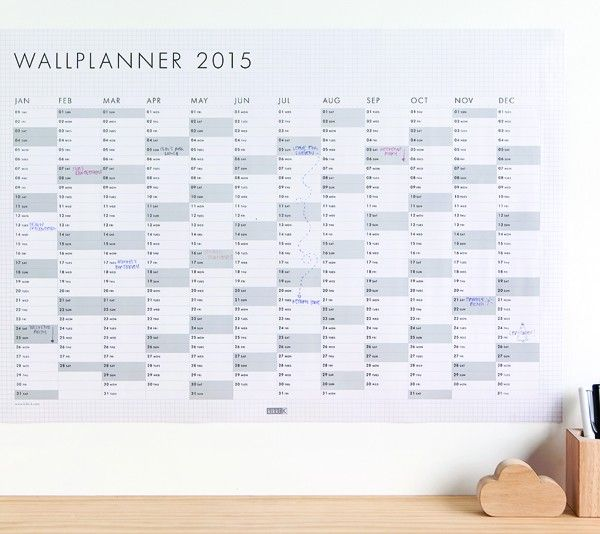 2015 WALL PLANNER