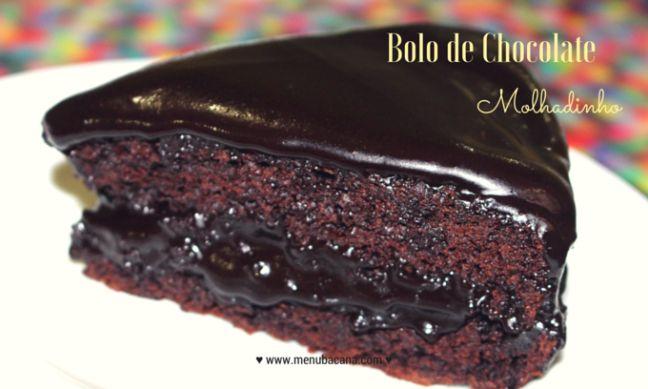 BoloChocolateMolhadinho