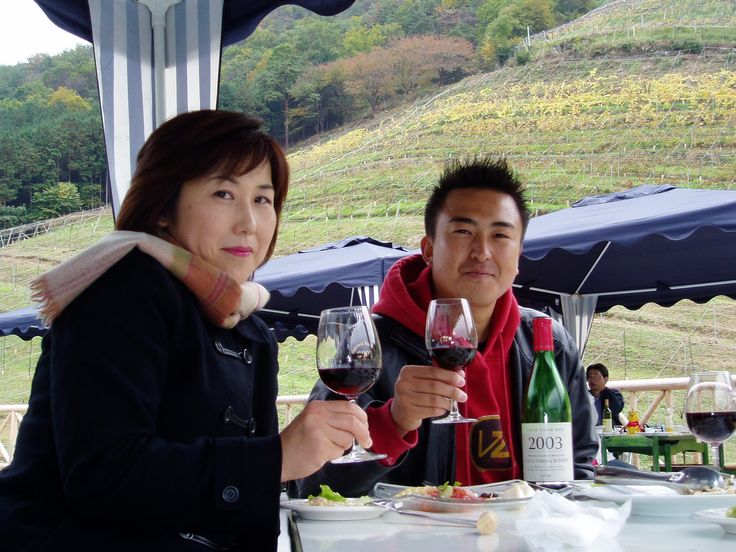 寒いがおいしいねぇ! 2004.11.14 COCO FARM & WINERY / ココ・ファーム ワイナリー