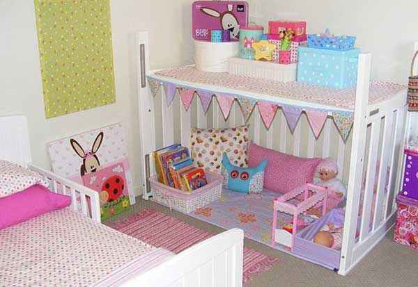 Great idea for a Kiddos Play House/room