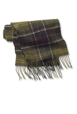 Barbour Scarf from Orvis