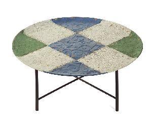 Particolarissimo questo tavolino-vassoio da salotto!!