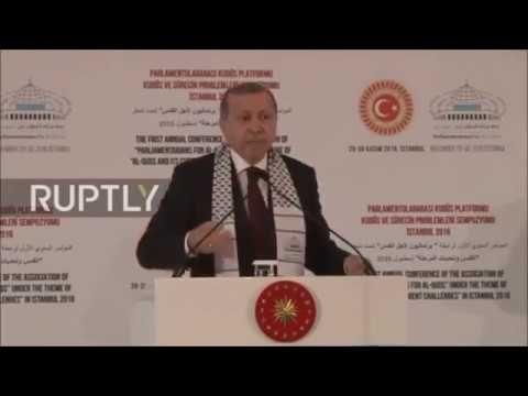 Turkey Declare War on Syria - Erdogan boasted: To end the rule of Bashar...