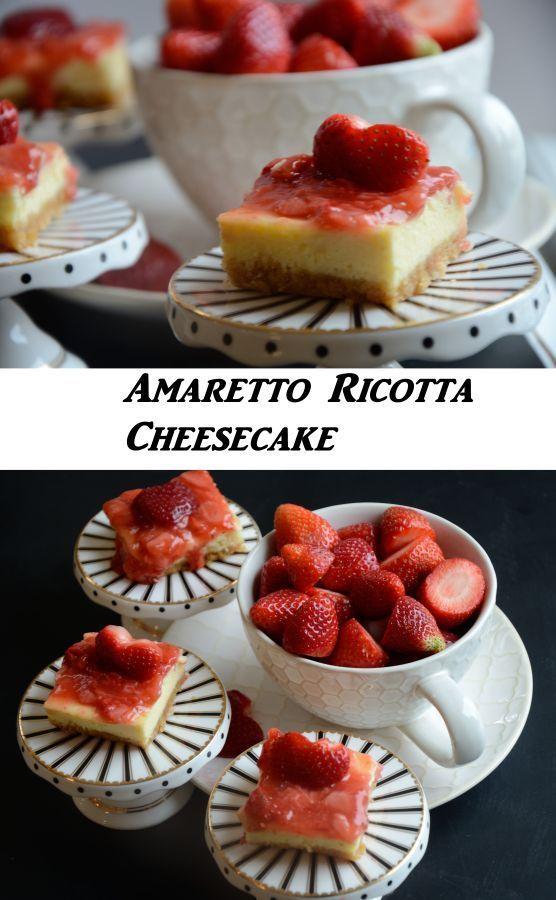 Light and delicious ricotta cheesecake!