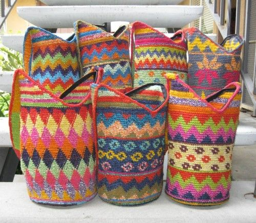 Kenya Crochet Bag - Guatemala.....Pure Pinspiration! ☀CQ #crochet