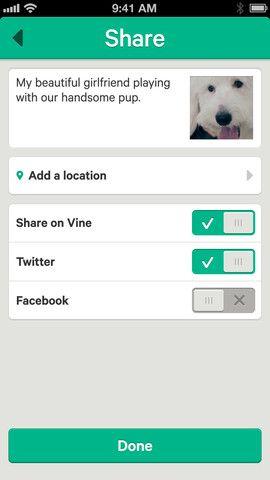 Aplicación: Vine para iOS