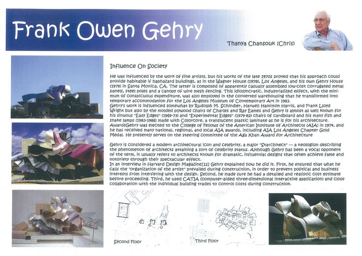 Frank Owen Gehry Research Page 3
