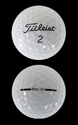"Titleist Pro V1 2012 Golf Balls by Titleist Golf - ""Mint Recycled"" - standby gift idea"