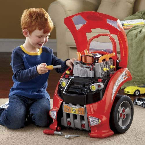 car engine repair toy for kids