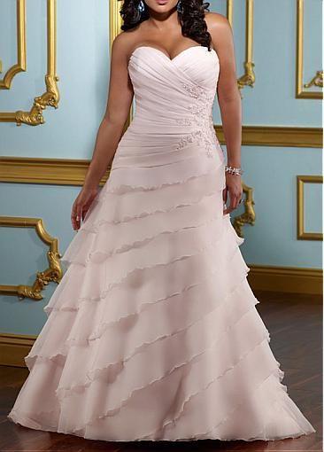 Elégante Exquise Robe de mariée de grande taille en satin A-ligne col en cœur sans bretelle avec appliques en dentelle ,perlage,et diamants faits main   http://fr.dressilyme.com/p-el%C3%A9gante-exquise-robe-de-mari%C3%A9e-de-grande-taille-en-satin-a-ligne-col-en-c%C5%93ur-sans-bretelle-avec-appliques-en-dentelle-perlage-et-diamants-faits-main-16476.html