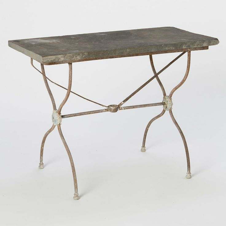 Slate Bistro Table. 113 best GARDEN    Furniture images on Pinterest   Garden