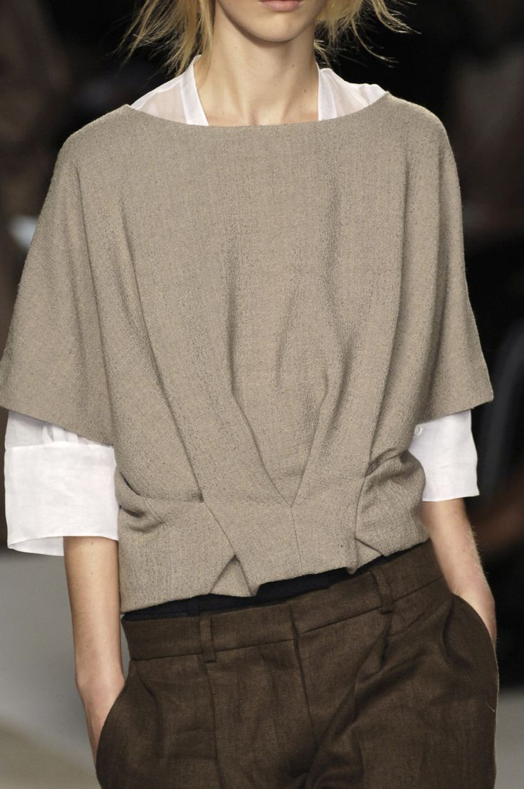 DIY Sewing Inspiration - Incredible Pattern  chloe f/w 2006