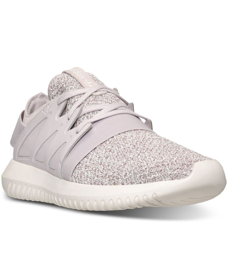 Offering a new take on the stylish Tubular, the Women's adidas Originals Tubular Viral Casual Sneakers have a clean, sophisticated look for everyday wear. A low-profile silhouette is turned up a notch
