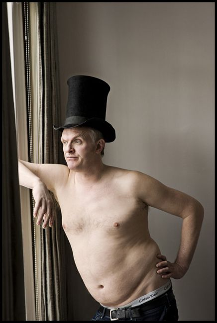 Greg Davies. Weird celebrity crush got weirder.