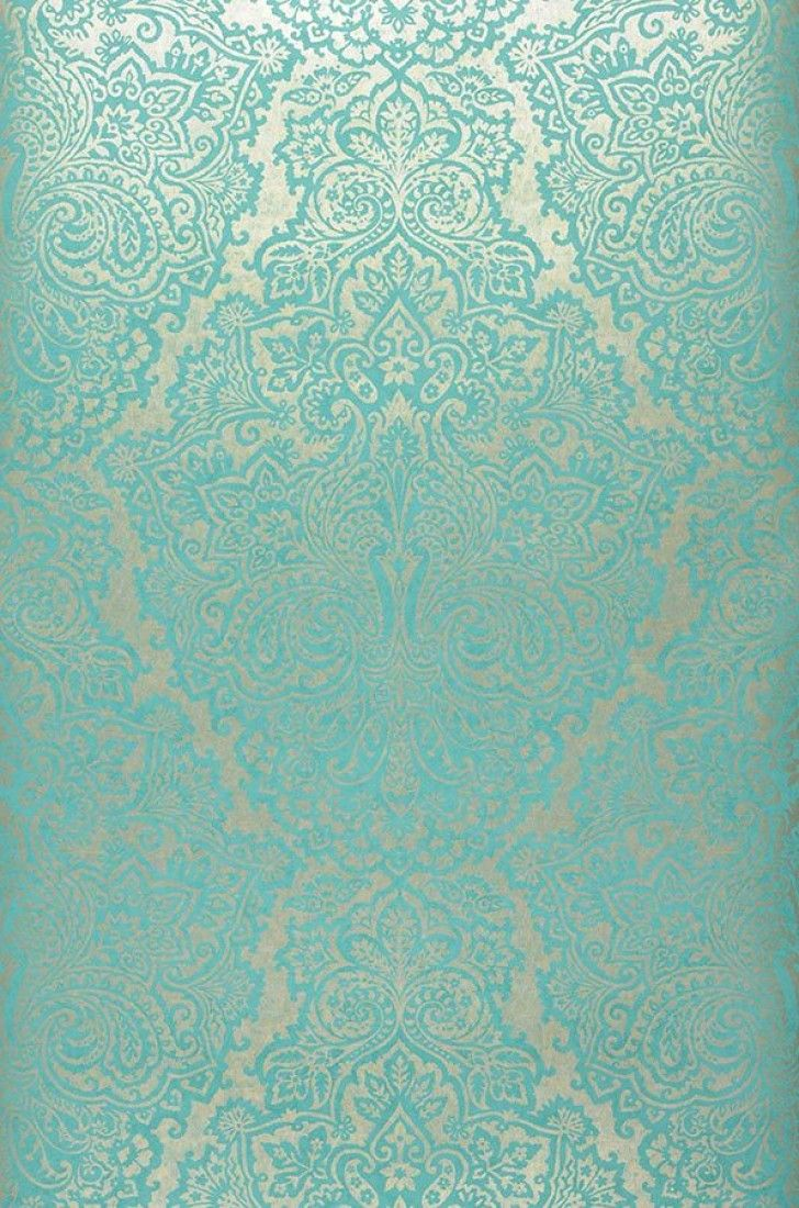 White vintage bedroom ideas - White Gold Pattern Colour Turquoise Blue Characteristics Lightfast