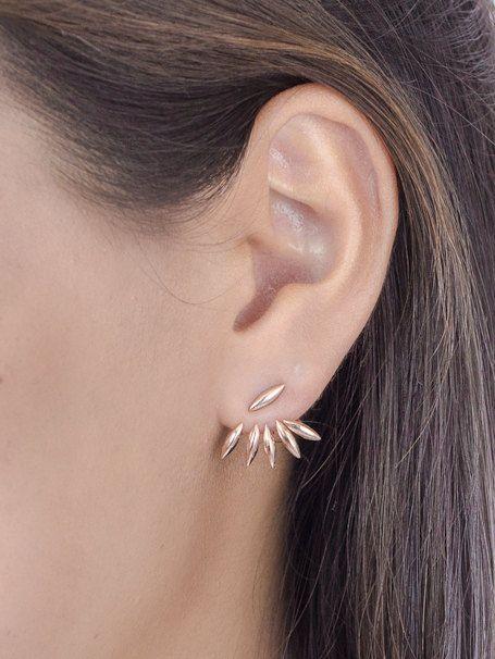 Boucles d'oreilles balancier en argent