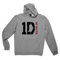 One Direction: One Direction Logo Grey Hoodie
