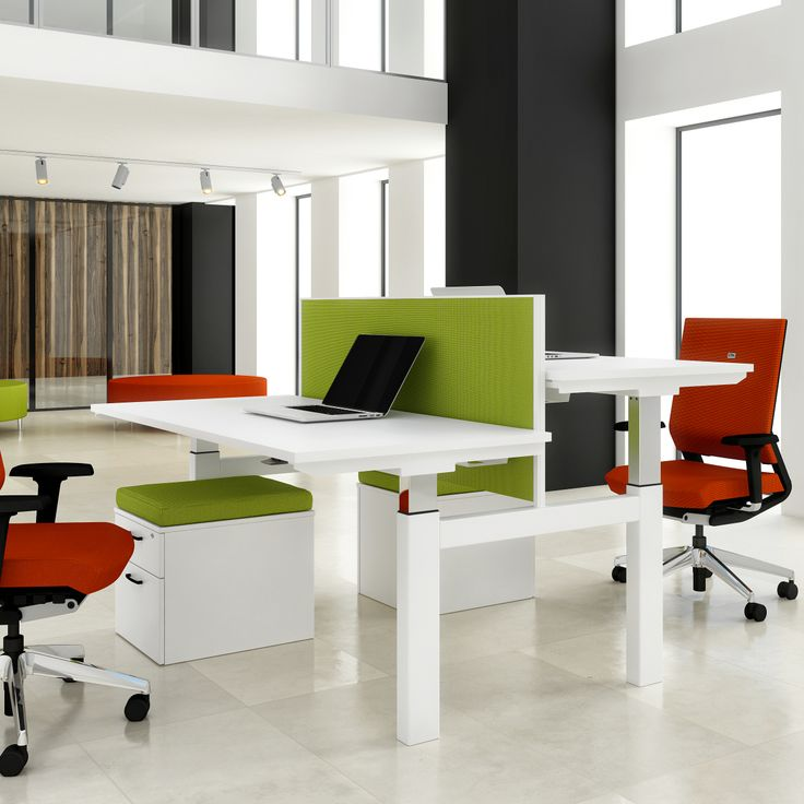 Office Furniture UK See More Adjustable Standing To Sitting Multi Person Work Stations