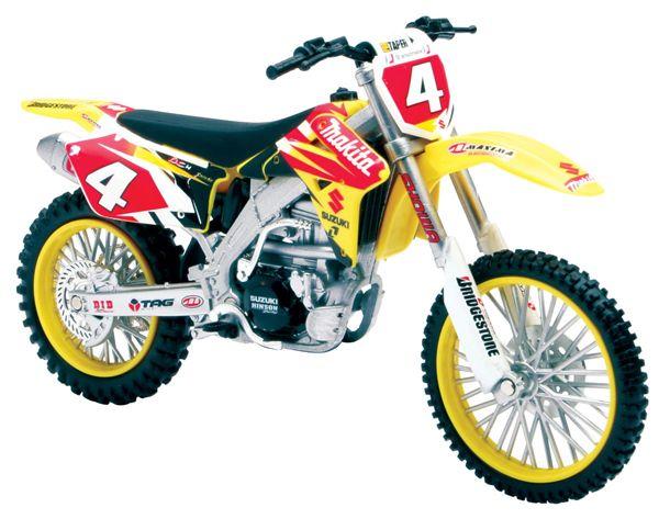 RAY 112 Suzuki Makita Ricky Carmichael Dirt Motorcycle