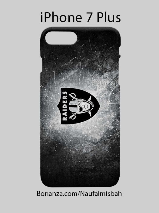 Oakland Raiders Custom Logo iPhone 7 iPhone 7 PLUS Case Cove