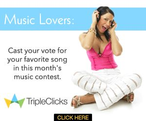 NEWS!!MUSIC LOVERS ,Listen , Vote + Become A Fan Of The Leading Top 10 Artist At Tripleclicks!! | Finance Release