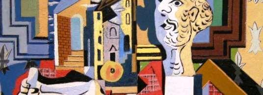 Detalle de Studio with Plaster head de Pablo Picaso (1881-1973), que ilustra la idea de la economía de la atención en un mundo plagado de infoxicación.