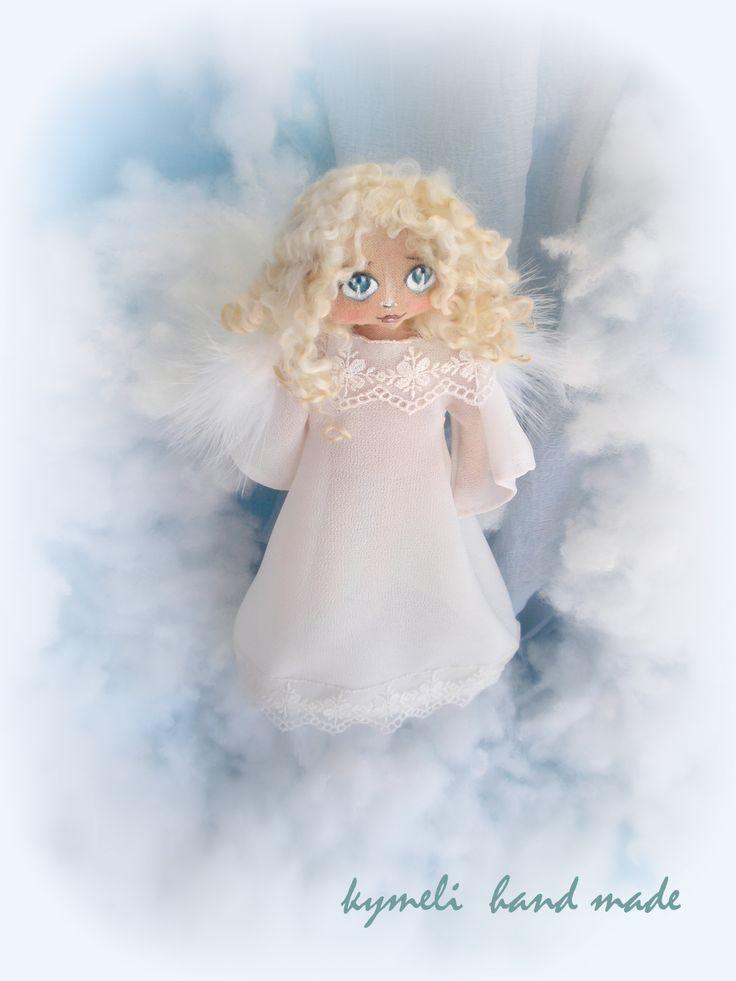 Angel OOAK Art Doll by kymeli