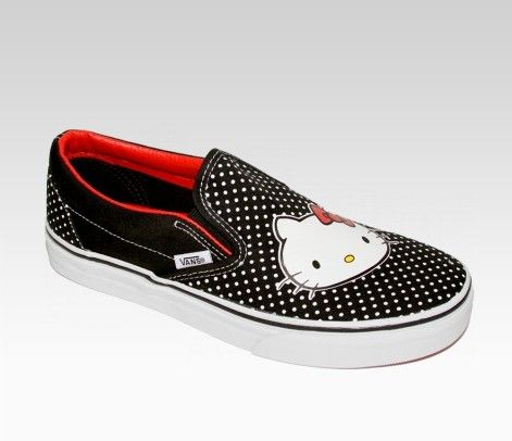 Hello kitty vans shoes-MINE!