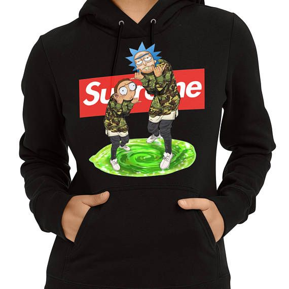 2603de384c4 Supreme Rick and Morty HoodieSupreme Hoodie Rick and Morty