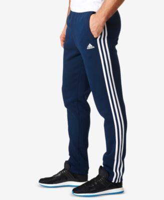 adidas Essentials Fleece Pants - Blue 2XL