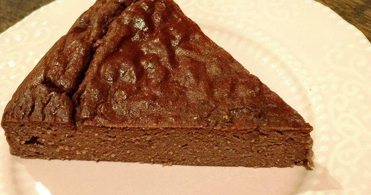 ココナッツフラワーでチョコチーズケーキ by ninaberry [クックパッド] 簡単おいしいみんなのレシピが247万品