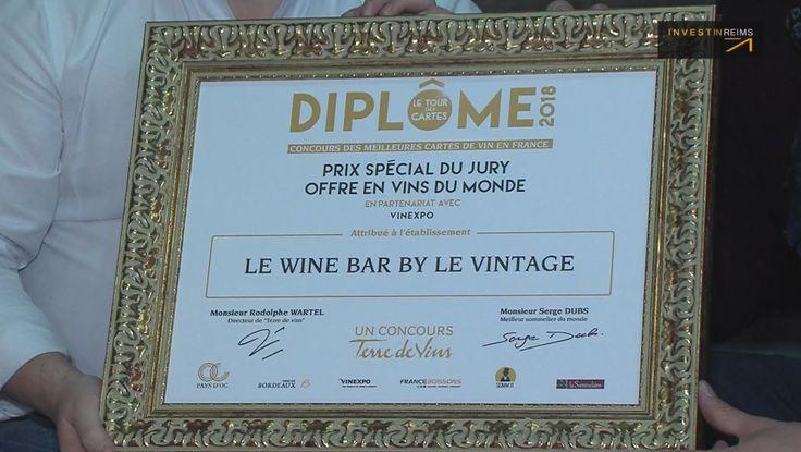 Wine Bar by le Vintage : prix de la meilleure carte de vins du monde décerné à un rémois.