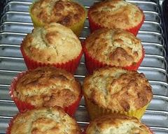 Healthy Yoghurt And Oat Muffins Recipe - Lunch box