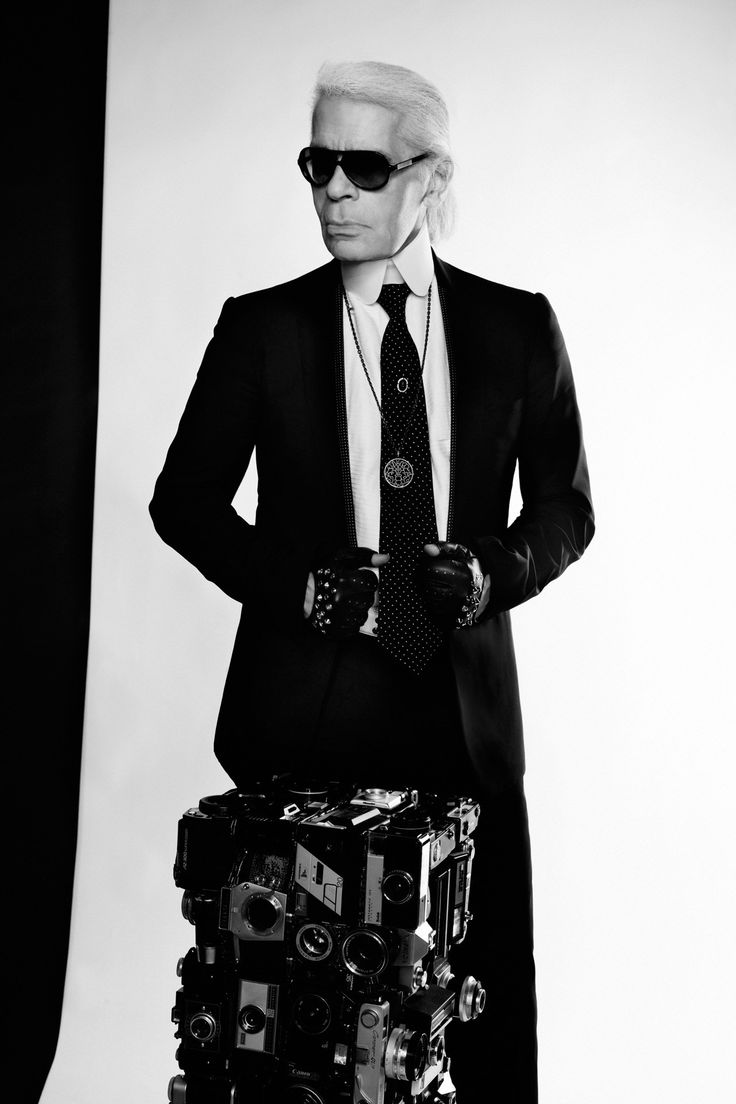 Karl Lagerfeld Vogue Interview (Vogue.co.uk)