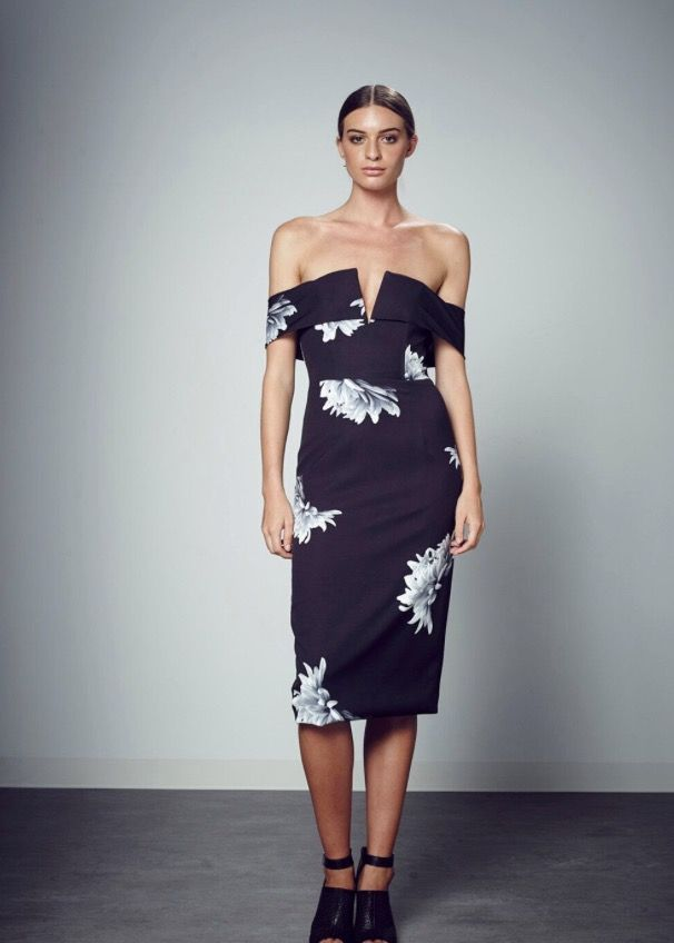 Shilla the Label - The Ultimate Floral Off Shoulder Dress