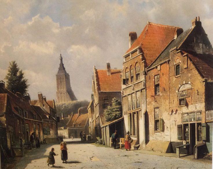 Willem Koekkoek .(1839-1895).