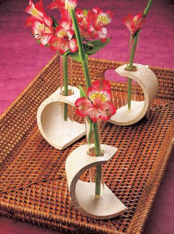 Floreros masa pétrea #EVIADIGITAL Descarga el paso a paso ya en www.eviadigital.com
