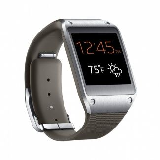 Samsung Galaxy Gear Smartwatch  ntroducing a brand-new way to stay connected. Samsung Galaxy Gear extends the smartphone experience to your wrist and keeps you updated with glance notifications, so you can keep up with calls, texts and emails.