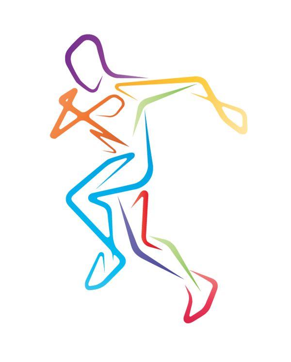 Картинки легкая атлетика нарисованные