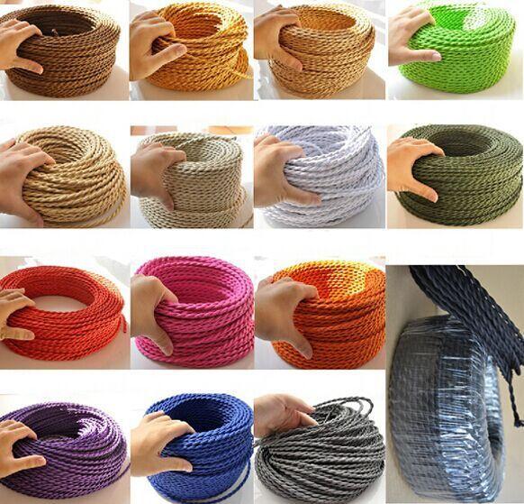 Alibaba グループ | AliExpress.comの ランプ カバー & シェード からの で作られた高品質の不織布をスリーブ、銅導体定格電圧: 300v定格温度: 105・度; c。この価格は1色1メートル。Plsは私たちにメッセージをあなたが欲しいものを色、 そうでない場合、 私達はランダムに色を送る!!! フィットジュエリー 中の ツイストペアケーブル色2x0. 75撚線編組電線レトロファブリックワイヤーワイヤーdiyペンダントランプヴィンテージランプコード